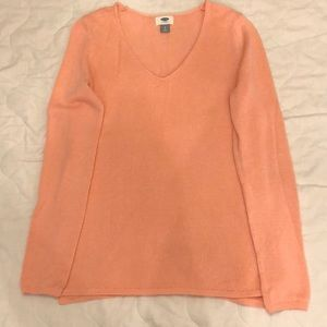 Old navy petite small pink sweater